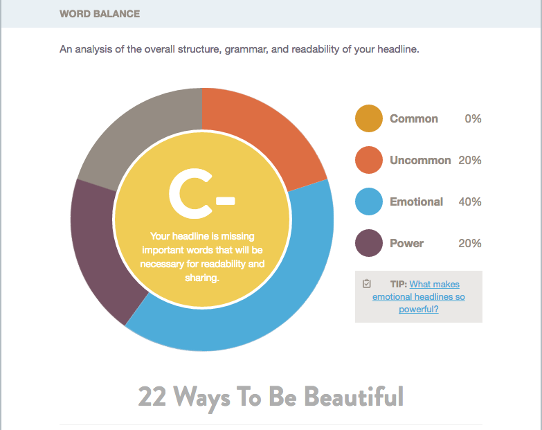 22 Ways to be Beautiful
