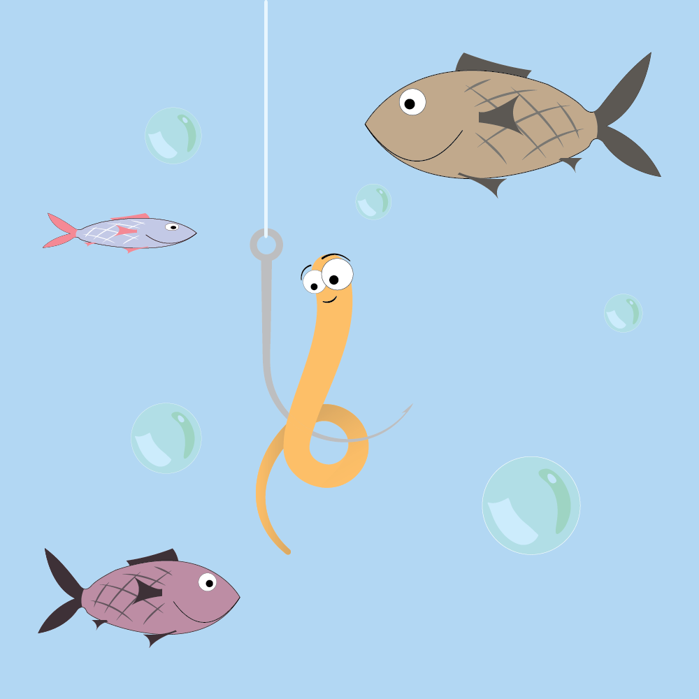SEO Copywriting Is Like Fishing: It's All About the Hook