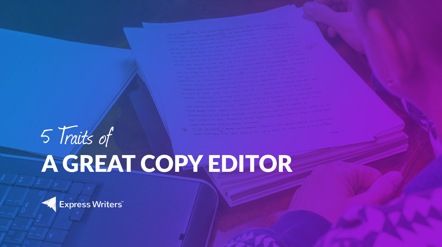 how to be a copy editor