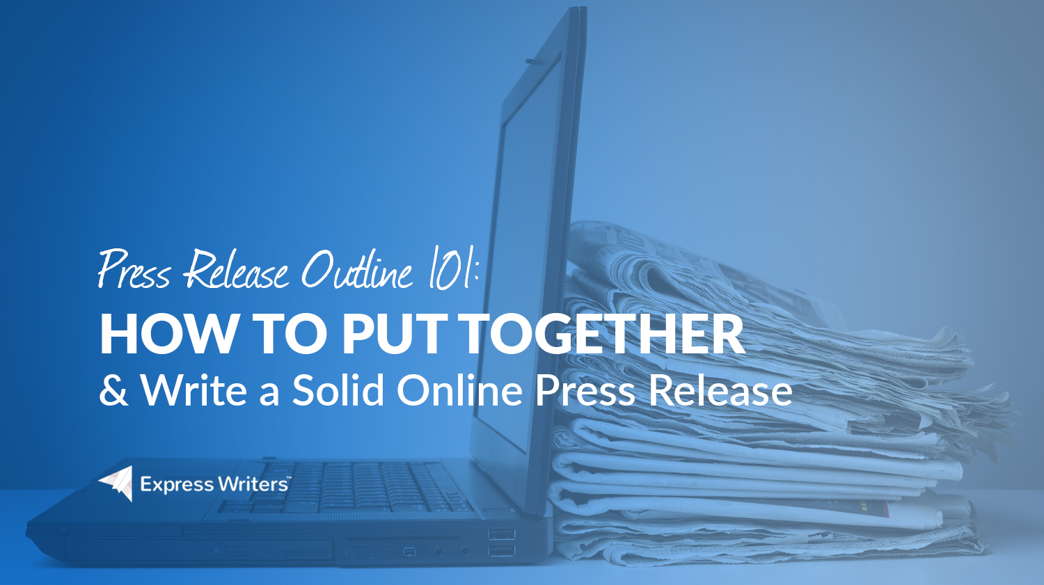 how to outline a press release
