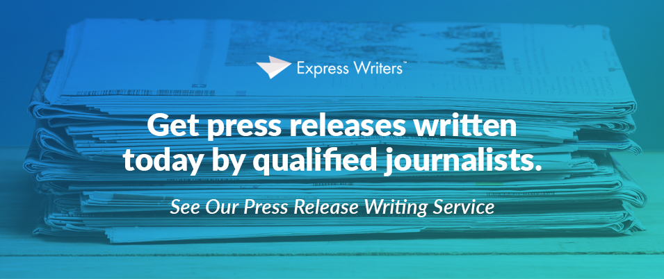 Get pro-written press releases