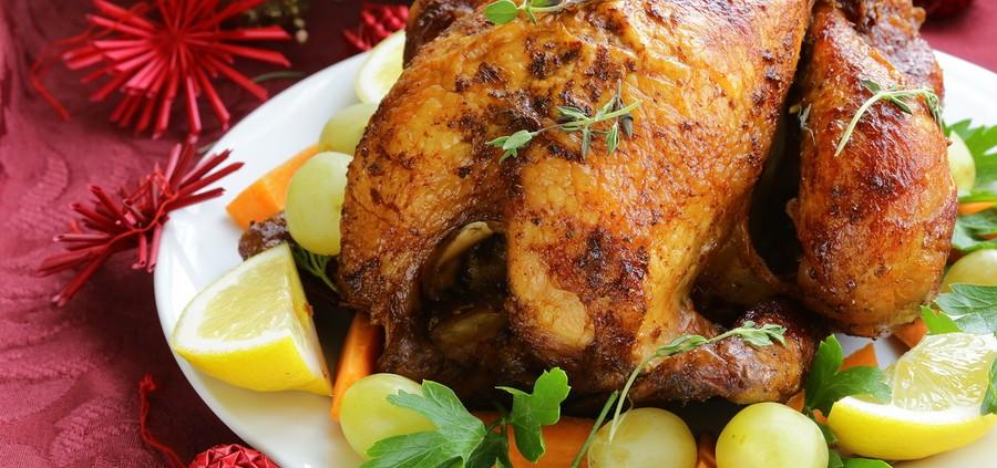 stuffed content holiday turkey