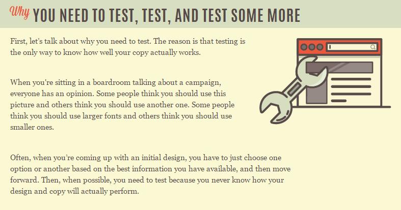 why test copy