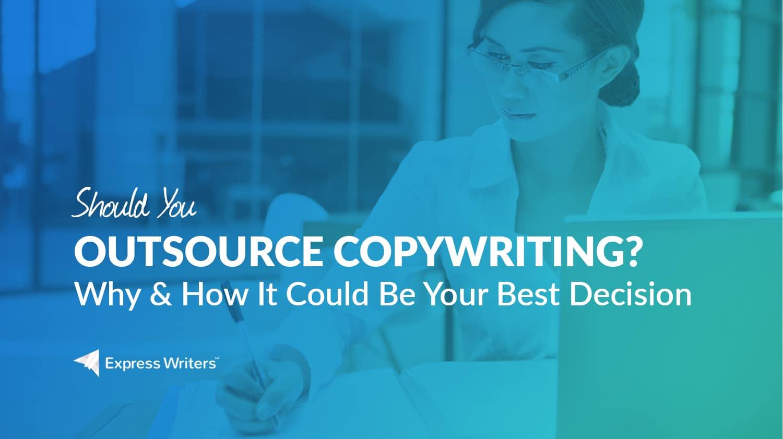 outsourcing copywriting