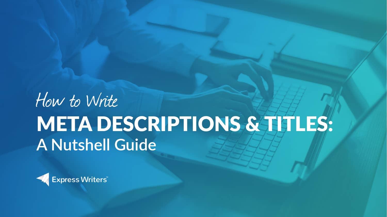 how to write a good meta description 2014 nba