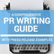 pr writing guide