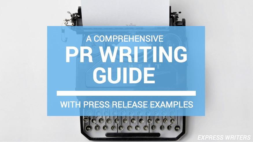pr writing guide