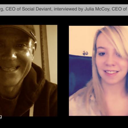 Julia Interviews Marc Landsberg, CEO of Social Deviant