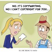 copywriting vs copyrighting