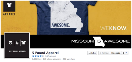 5 pound apparel