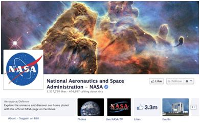 NASA Facebook
