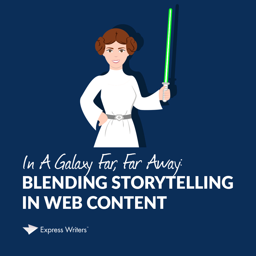 storytelling in web content