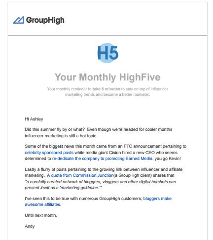 GroupHigh Screenshot