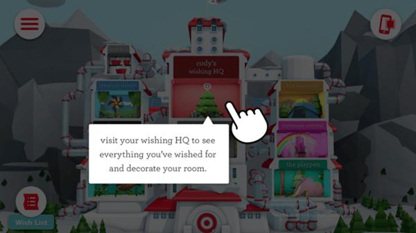 target wish list interactive