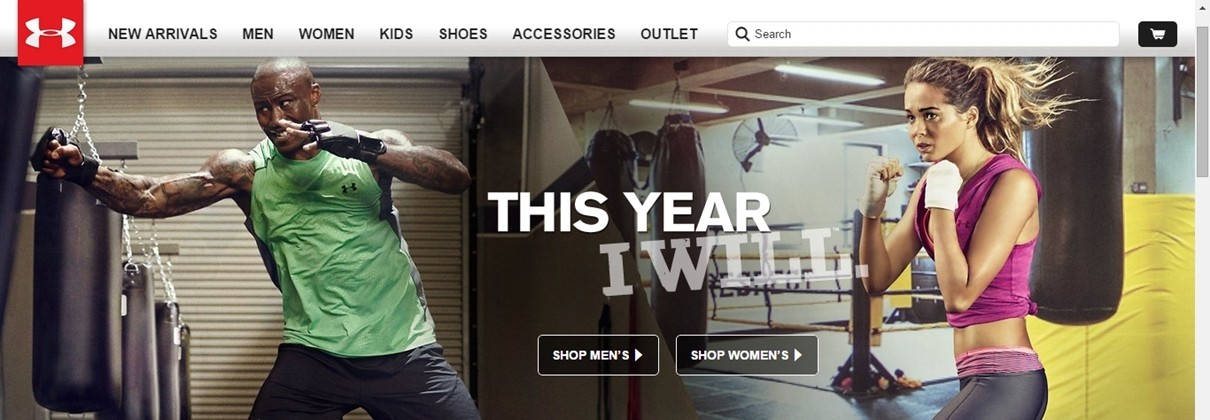 under armour copywriting