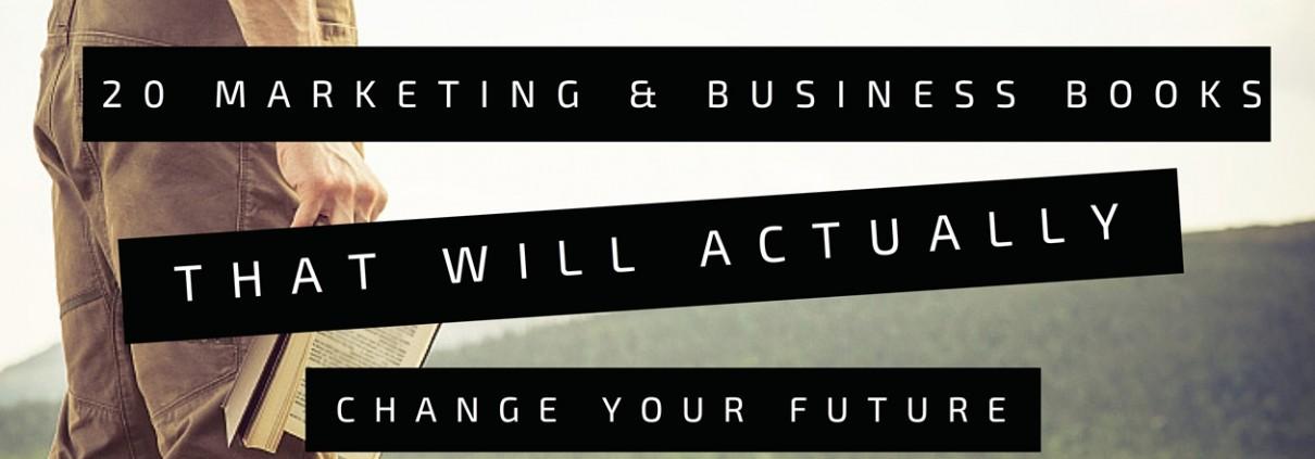 20 Marketing & Business Books