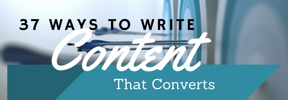 37 ways to write content