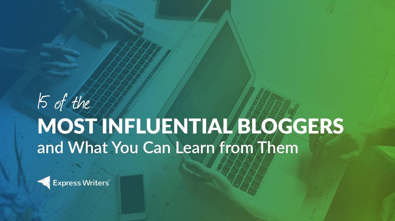 famous bloggers online