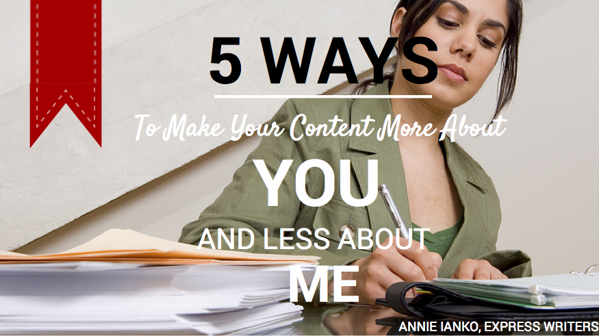5 Ways to be about you