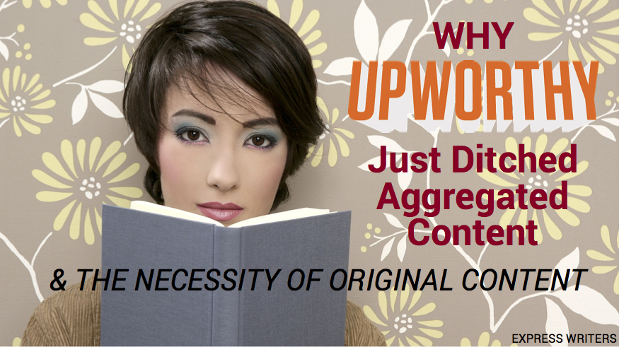 Upworthy aggregated content