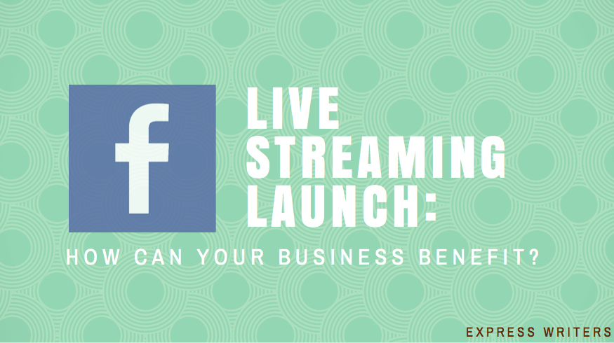Facebook Live Streaming Launch