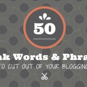 50 blogging phrases
