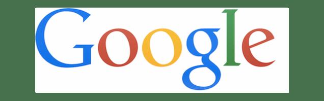 Modern google logo screenshot