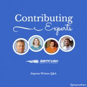 SEMRush Q&A Express Writers