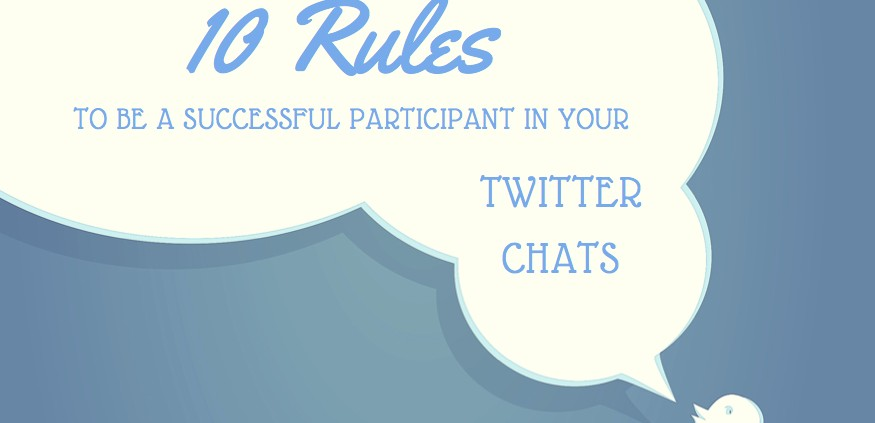 Learn how to be awesome in Twitter chats.