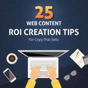 Content Creation ROI Tips Infographic