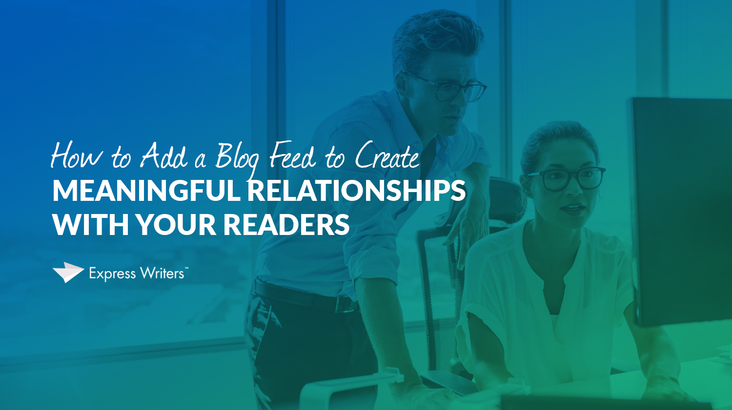 how to add a blog feed inset