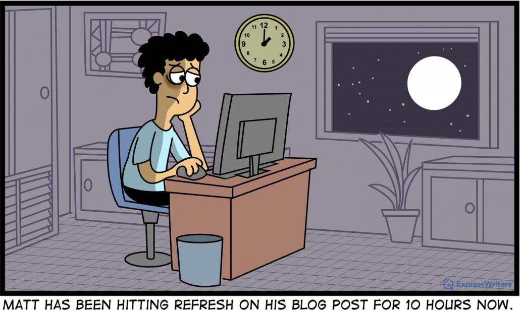 blogging seo comic