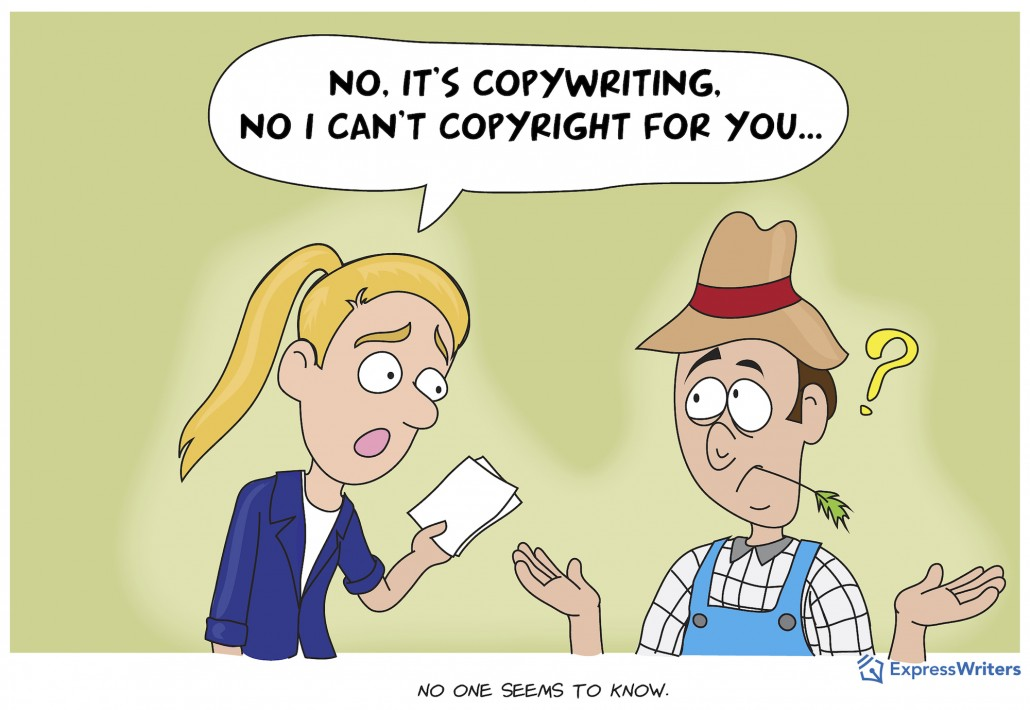 copywriter vs copyrighting