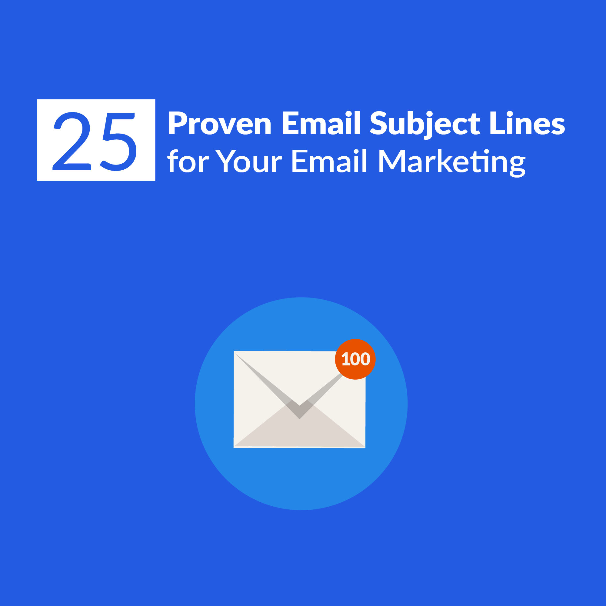 25 Proven Email Subject Lines