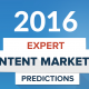 content marketing predictions 2016 cover
