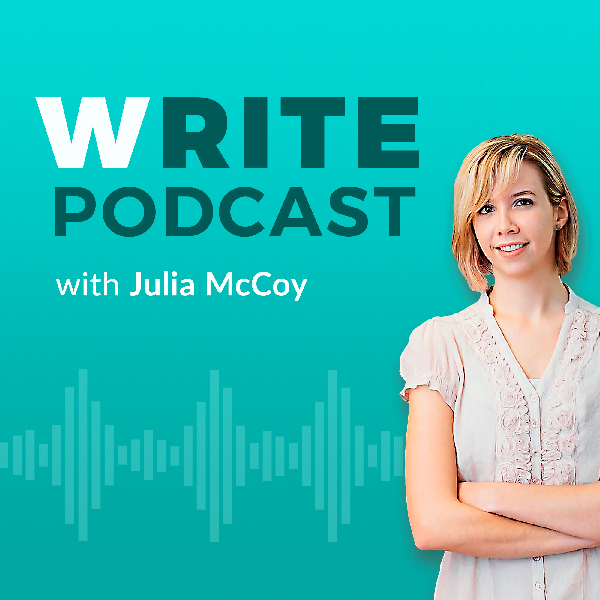 write podcast cover