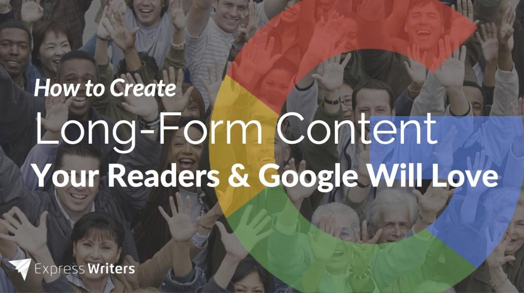 long-form blog content