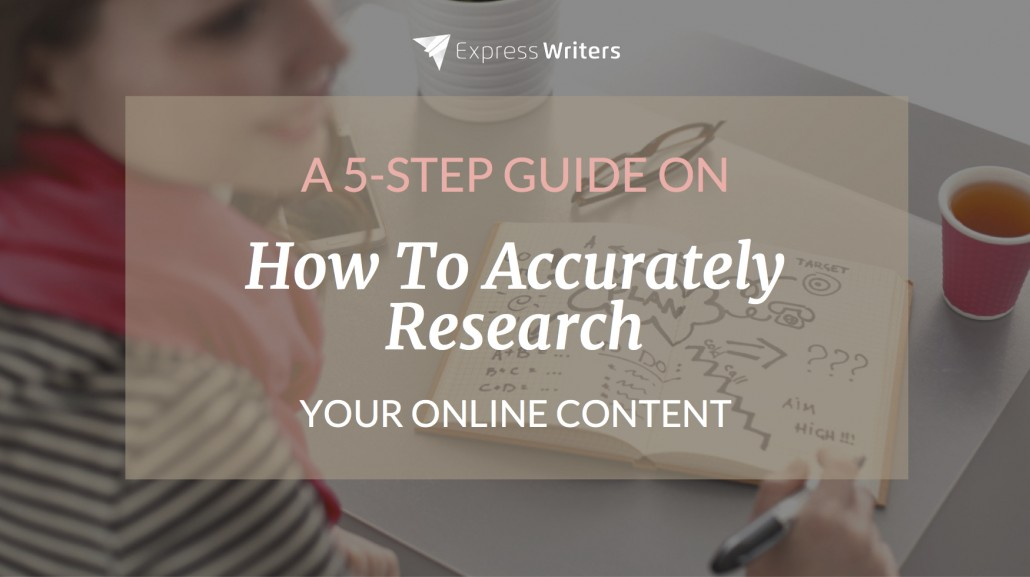 online content research guide