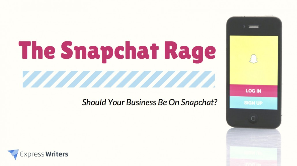 should your business be on snapchat