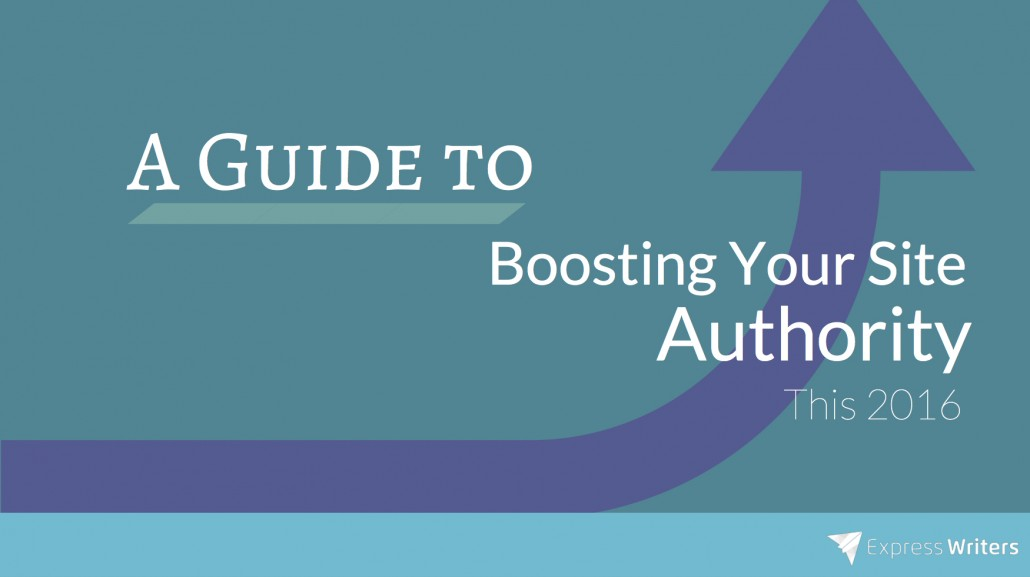 boosting site authority