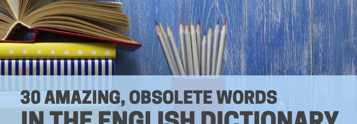 obsolete words