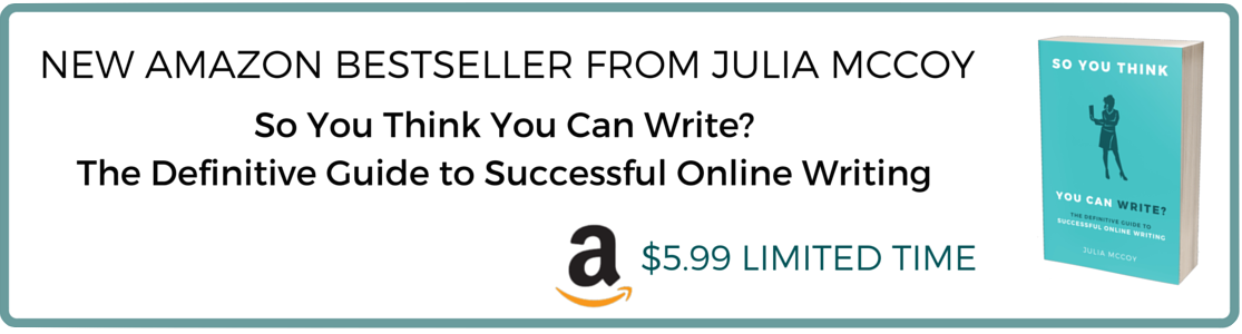 So you think you can write julia mccoy
