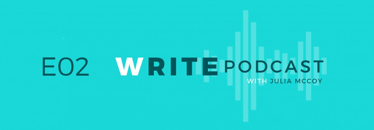 E02 Write Podcast Website Cover Featured Image