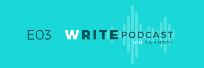 E03 Write Podcast Website Cover Featured Image