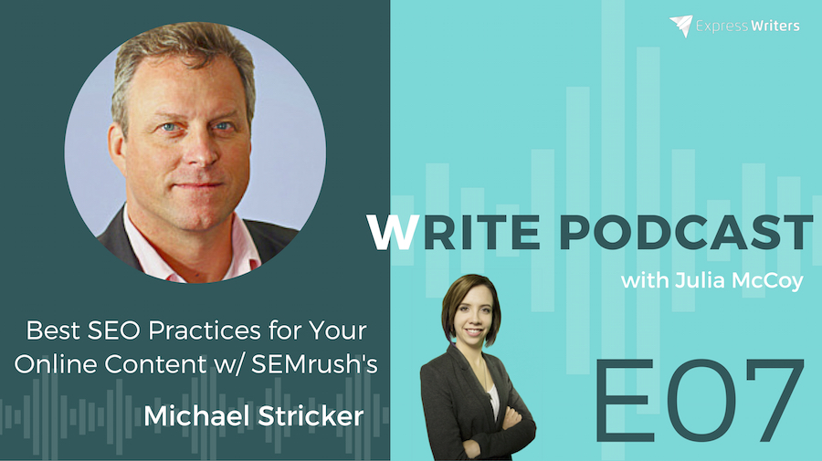 michael stricker best seo practices for online content