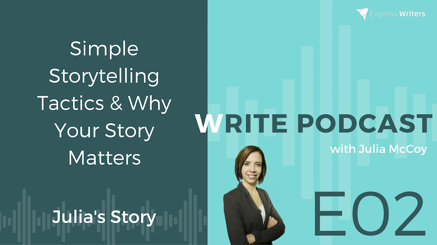 simple storytelling tactics