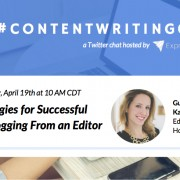 ContentWritingChat with Kathleen Garvin