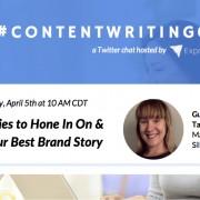 ContentWritingChat with Tamara Budz