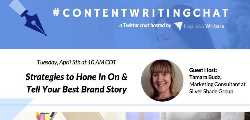 ContentWritingChat with Tamara Budz