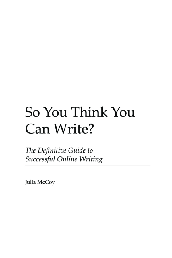how to think of what to write